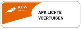 APK keuring lichte voertuigen